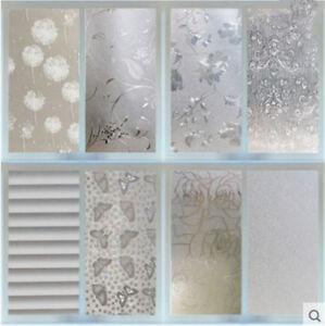 45CMx2M-PVC-Frosted-Privacy-Waterproof-Bedroom-Bathroom-Window-Film-Sticker