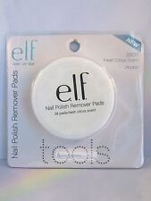ELF Nail Polish Remover Pads 24 count - Fresh Citrus Scent 26011