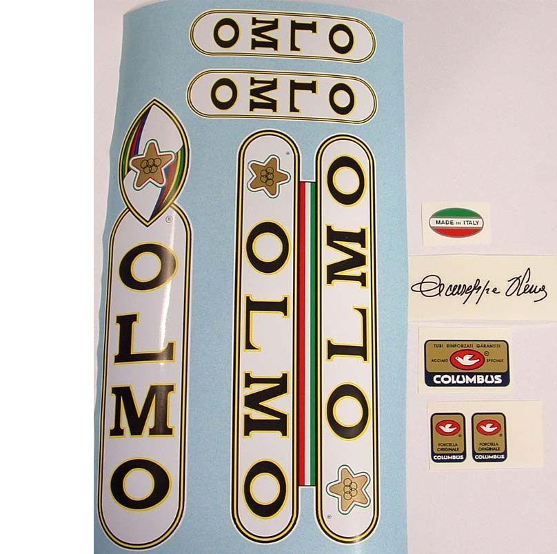 Olmo decal set for Campagnolo vintage bike resto 2