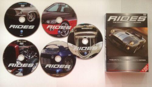 1 of 1 - Rides : Season 1- (5-Disc Set) - DVDS LIKE NEW FREE POST AUS REGION 4