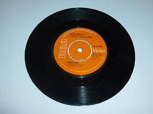 ELVIS-PRESLEY-Suspicion-1970-UK-orange-RCA-label-7-034-Vinyl-Single