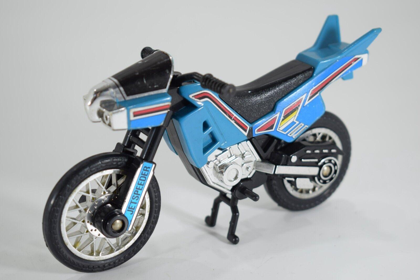 Power Rangers Chōjin Sentai Jetman blu Jetspeeder Bike 5.5inch. Bandai 1991