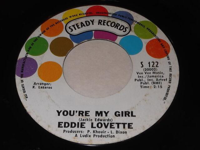Eddie Lovette: You're My Girl / By-ooh-paooh-pa-pa-ya 45