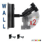 Universal Wall/Ceiling Steel Speaker Mount Brackets with Ball-Joint, 1 Pair