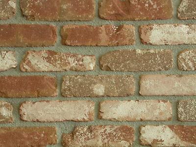 Retro-verblender Wdf Bh751 Rot-braun Gekollert Klinker Vormauersteine AusgewäHltes Material Heimwerker Klinker