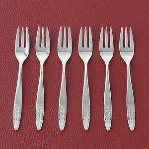 6er-Set-WMF-Rio-Kuchengabeln-Besteck-Silberbesteck-Patent-90-versilbert-TOP