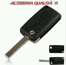 Telecomando Chiave Guscio Scocca Tre 3 Tasti Key Peugeot 407 807 207 307 308 206