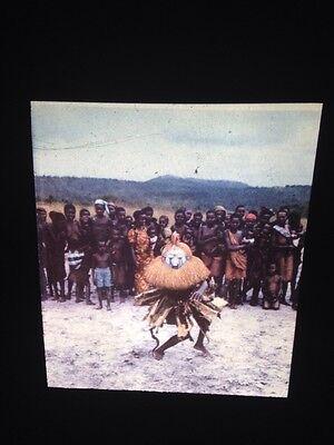 African Tribal Art Vintage 35mm Slide Yaka Zaire Initiation Rites