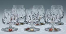 6 Nachtmann Bleikristall Cognacschwenker       #91313