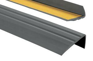 Treppenkantenprofil PVC Selbstkleben 50x25mm Kantenschutz 80 –150cm Treppenkante