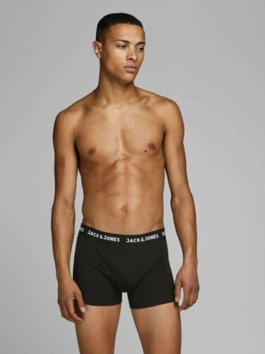 Men/'s Jack /& Jones Classic Boxer Shorts Pack of 3 Stretch Cotton Underwear Pants