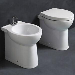 Sanitari alti bagno in ceramica h50 cm per disabili - Sanitari bagno per disabili ...