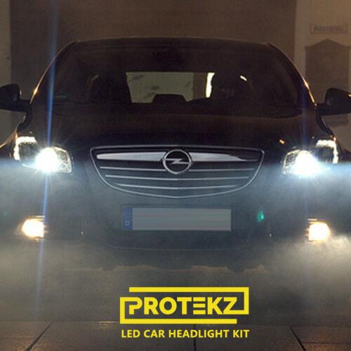 Protekz 6000K LED Headlight High Beam Bulbs for 2002-2004 Infiniti Q45 H1
