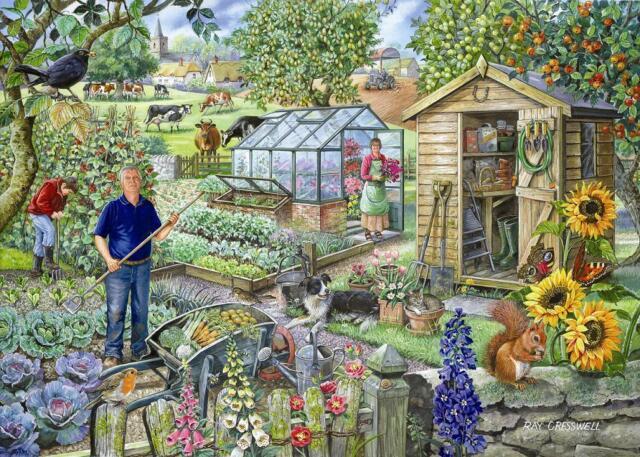 La maison de puzzles - 500 Gros Morceau Jigsaw Puzzle-à L'attribution De Gros Morceaux