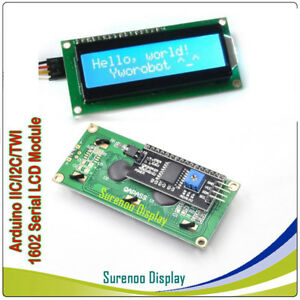 Details about 16x2 1602 162 Serial I2C IIC Charactrer LCD Module Display  Screen for Arduino