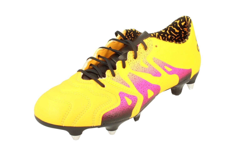 Adidas X 15.1 SG Cuero S74630 Para hombre botas De Fútbol Soccer Cleats