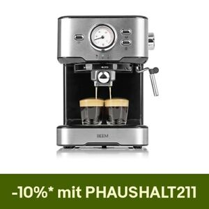 Beem Espressomaschine Siebträger Barista Milchschaumdüse 15 Bar