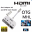 MHL-To-HDMI-Connection-Kit-USB-OTG-Card-Reader-MHL-Adapter-5-in-1-WHITE-COLOR thumbnail 4
