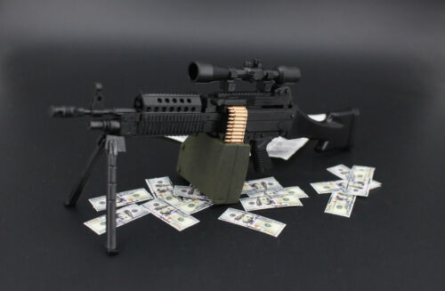 1:6 1//6 BattleField5 Mk46 MOD1 M249 SPW Machine gun Modern Warfare PUBG