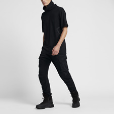 Nike NikeLab ACG Cargo Black Sweatpants Pants Lab Tech Fleece 829578-010 sz XL