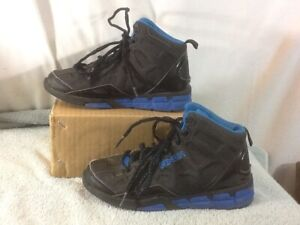 Clothing, Shoes & Accessories Independent Cute Boys Sz Youth 13 And 1 Black & Blue Hi Top Athletic Shoes Pre-owned Nice