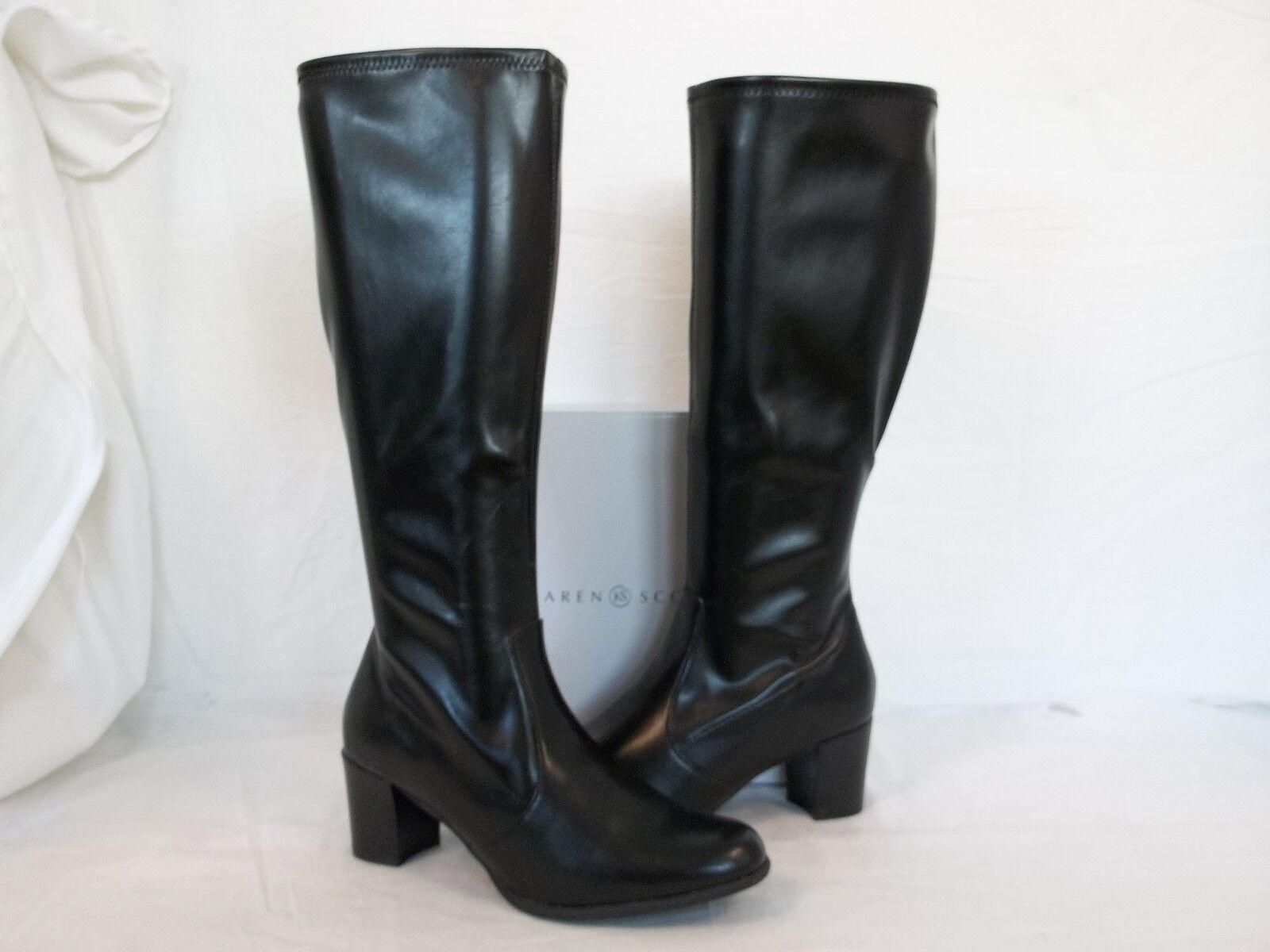 Karen Scott Size 6.5 M Lucca Black Knee High Boots New Womens Shoes