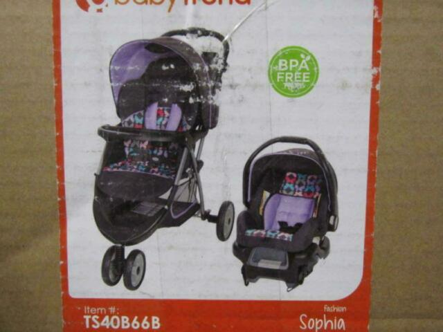 Baby Trend Ez Ride 35 Travel System Hello Kitty Ice Cream For Sale Online Ebay