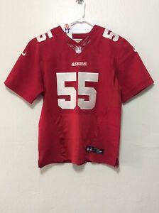 Details about San Francisco 49ers Nike Stitched Jersey #55 Ahmad Brooks Size-48 I622