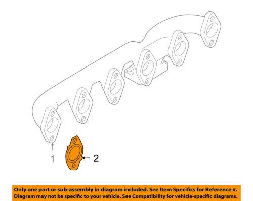 CHRYSLER OEM-Engine Intake Manifold Gasket 53013944AA