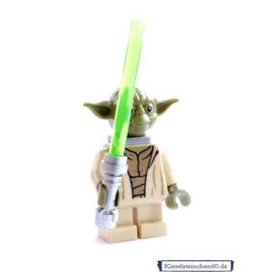 LEGO®  Minifigur sw707 Star Wars Yoda mit Laserschwert