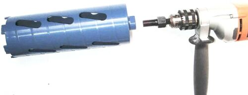 """1PC Core Bit Adapter Convert 5//8""""-11 Arbor to 1//2"""" Shank for electric Drill"""
