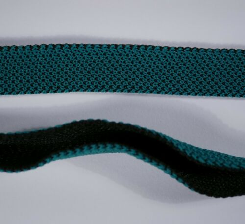 25mm opal green FOLD OVER strong thick heavy duty CANVAS binding
