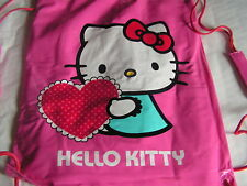 PONCHO IMPERMEABLE CAPE DE PLUIE HELLO KITTY TAILLE 6 ROSE TAILLE 4