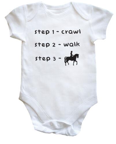 Walk Crawl Horse Ride baby vest boys girls