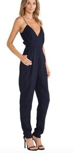 The Finders Navy Bnwt Someday Jumpsuit Keepers Xs xSwwqa
