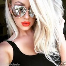 mirror sunglasses for women  Butterfly Mirrored Sunglasses for Women