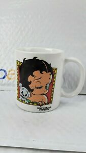 Betty Boop With Puppy Collectible mug Universal studios 1995