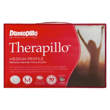 Dunlopillo Therapillo Memory Fibre Flexible Support Medium Profile Body Pillow