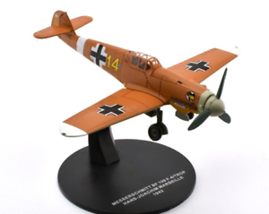 ATLAS 1/72 WW2 FIGHTER LUFTWAFFE MESSERSCHMITT BF109 F-4/TROP H-J MARSEILLE 1942