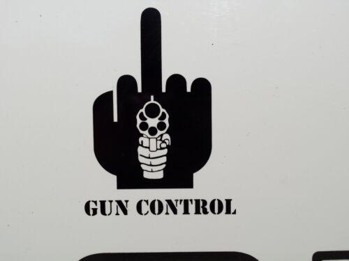 G U N CONTROL FINGER