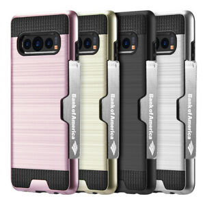 For-Samsung-Galaxy-Note-10-Plus-Wallet-Case-Card-Slot-Hybrid-Armor-Rugged-Cover