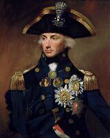 8x10 Photo: Royal Navy Admiral Horatio Lord Nelson, Hero Of Napoleonic Wars