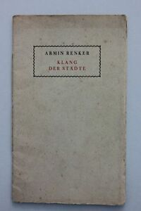 Armin-Renker-Klang-der-Staedte-Eine-Gedichtfolge