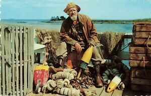 Postcard-Old-Salt-Along-the-New-England-Coast