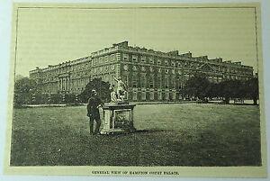1886-magazine-engraving-HAMPTON-COURT-PALACE-London