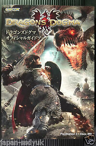 JAPAN-Dragon-039-s-Dogma-Official-Guide-Book