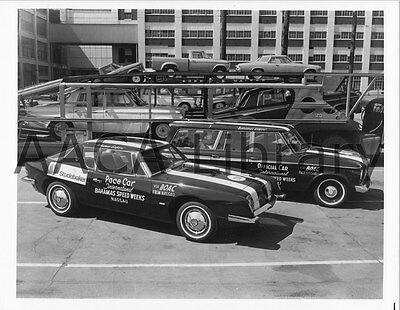 Ref. # 25511 Factory Photograph 1963 Studebaker Avanti Pace Car