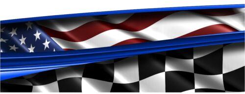 IMCA Late Model Dirt Trailer Sprint Flag #24 Decals Wrap RACE CAR GRAPHICS