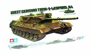 Tamiya-Military-Model-1-35-LEOPARD-A4-West-German-Tank-Scale-Hobby-35112