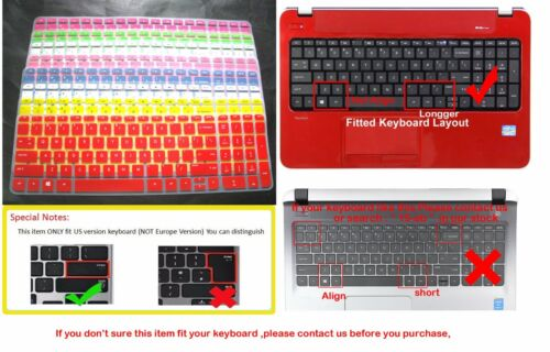 Keyboard Skin Cover Protector For HP Pavilion 17-f125ds 17-e147cl 17-p121wm 17.3